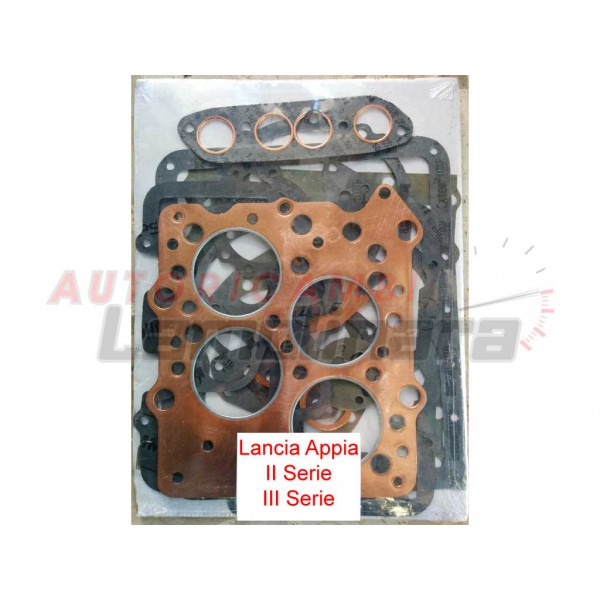 Cylinder Head Gasket 2 Per Engine 07v103147: Lancia Appia Copper Cylinder Head Gasket + Full Complete