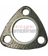 Exhaust manifold gasket Silencer Muffler for Fiat and Seat 600 Abarth 750 1000